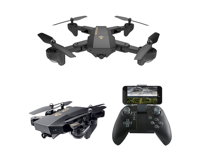 все цены на RC Dron Visuo XS809W XS809HW Mini Foldable Selfie Drone with Wifi FPV Camera HD Altitude Hold Quadcopter Vs sg700 JJRC H47