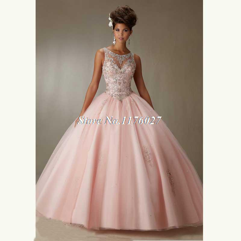 Vintage Masquerade Ball Dresses 2016 Blue Champagne Quinceanera ...