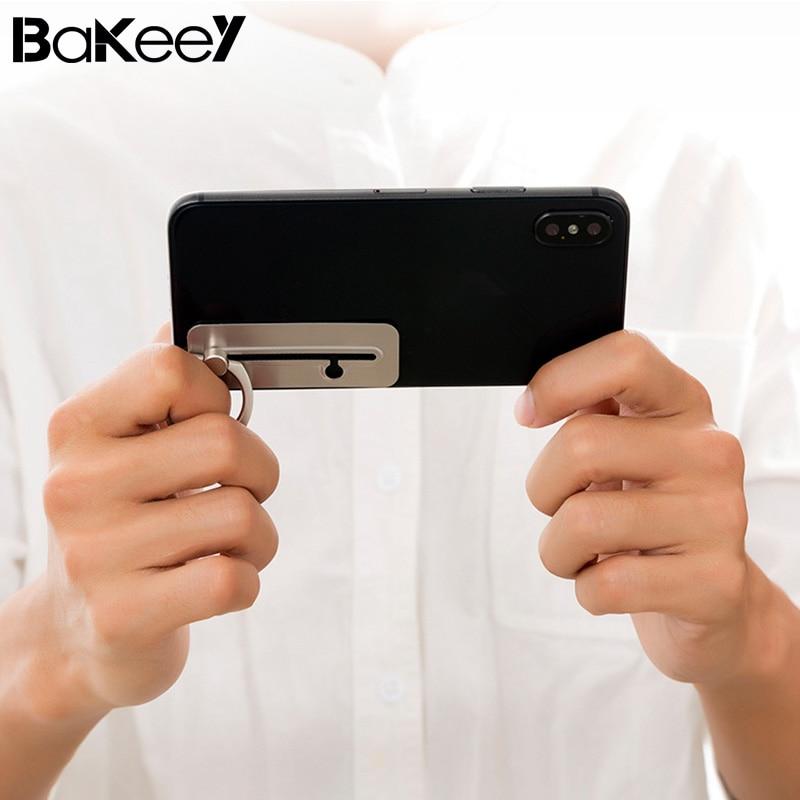 Bakeey Games Slidable Detachable 360 Degree Rotation Finger Ring Phone Holder Stand for Mobile Phone