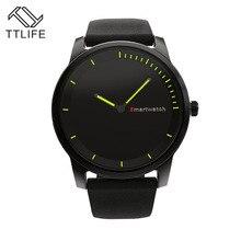 TTLIFE бренд Круглый ШАП bluetooth Smart часы Классический здоровья из металла SmartWatch Смарт износ устройства часы для Android iso