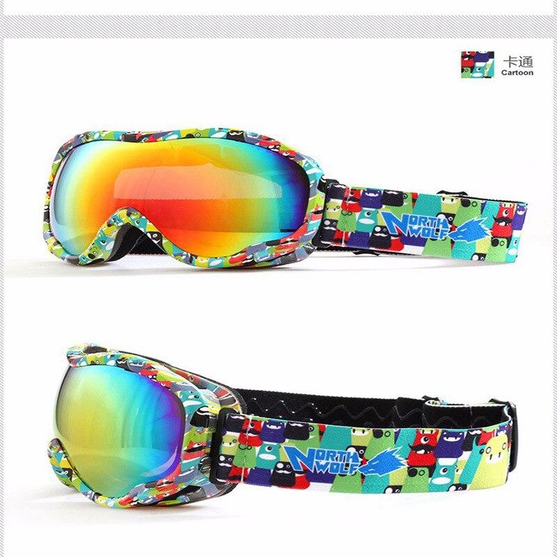 Мужской и Женский горнолыжный Очки лыжные очки двойной анти-туман очки ветрозащитный Высокое качество nw920