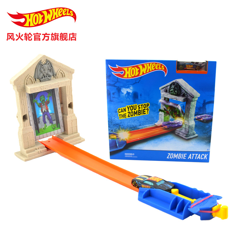 Hot Wheels Accessories  Track Toy kids Toys Model Plastic Miniatures Cars Track Educational Slot Car Toy BCT38