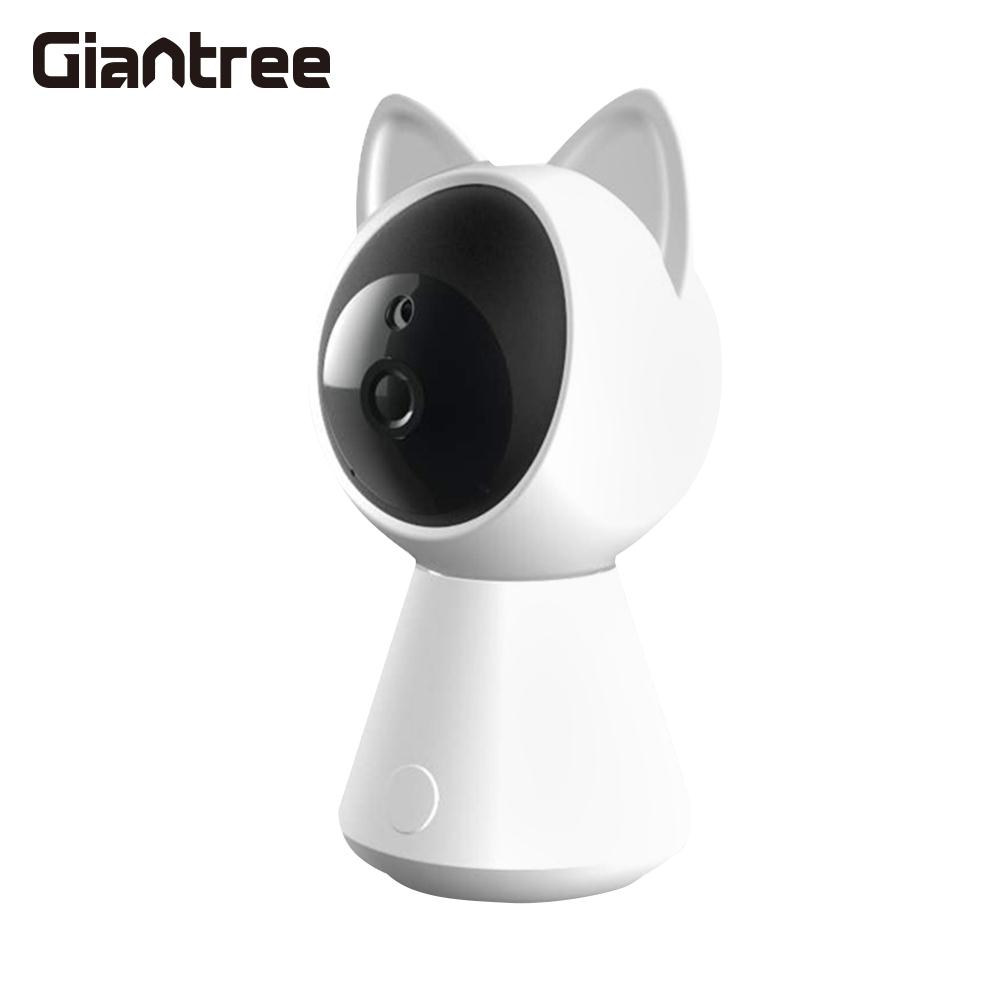 Home Security IP Camera Wireless Smart WiFi Camera Audio Record Surveillance Baby Monitor HD Mini Camera 1080P TF Card 2.0MP