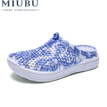 MIUBU Candy Colors Women Slippers Clogs Mules Eva Summer Flip Flops Beach Garden Shoes Fashion Sandals Outdoor Chinelo Feminin