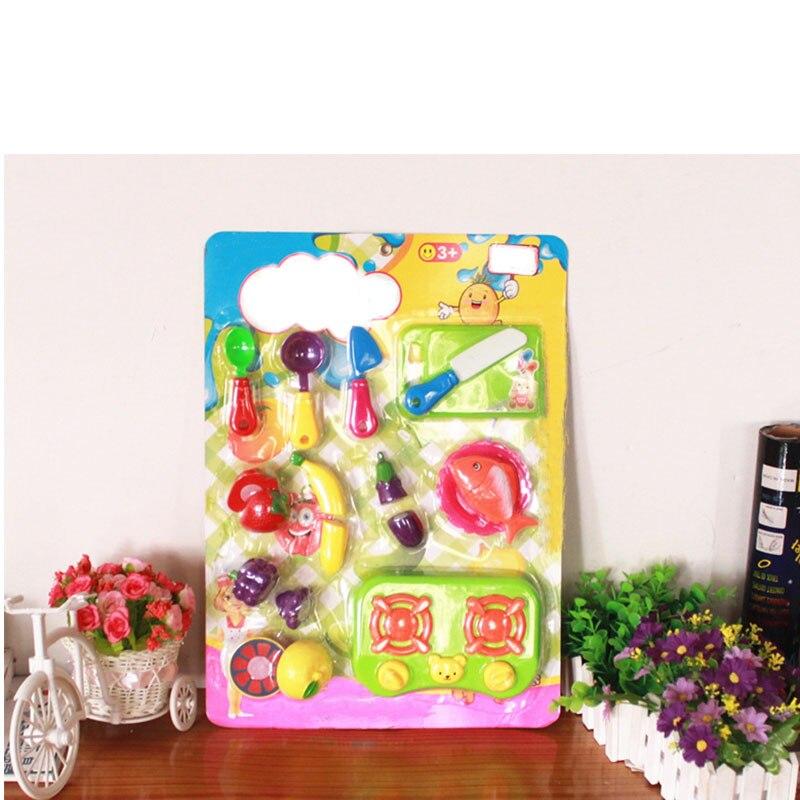 unidsset plstico de cocina para nios juegos de imaginacin frutas y verduras de