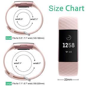 Image 3 - 12 renk akıllı saat bilezik Fitbit şarj için 3 4 kayış spor aksesuarları değiştirin fitbit band için correa fitbit charge3 4