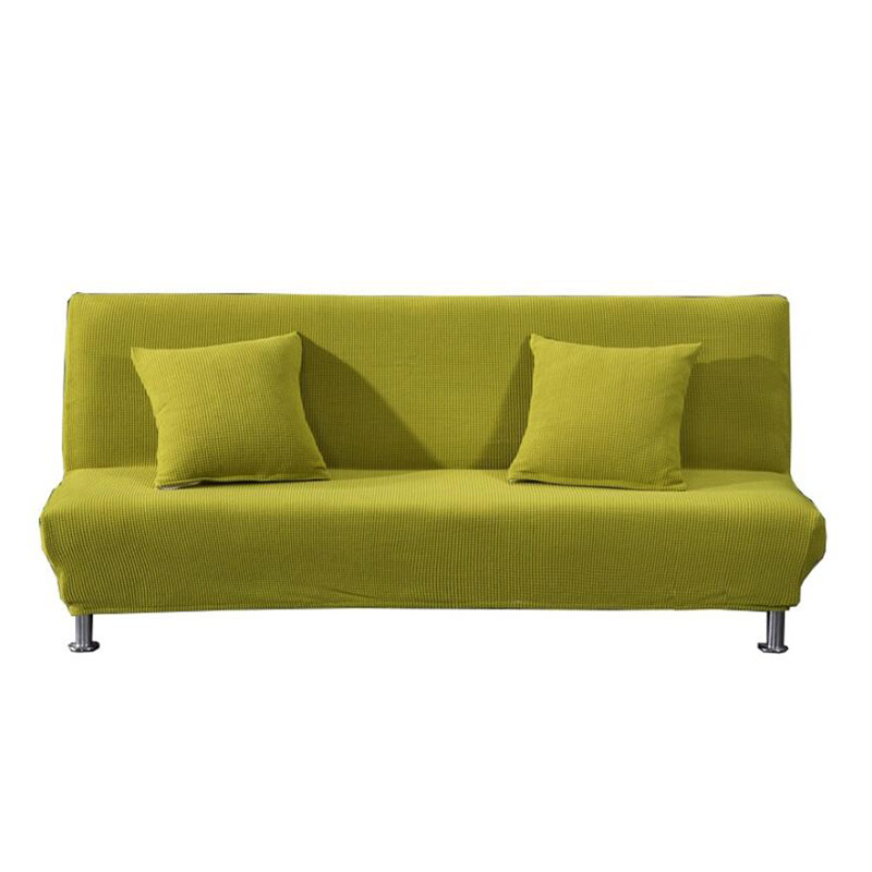 Universal Armless Sofa Cover Folding