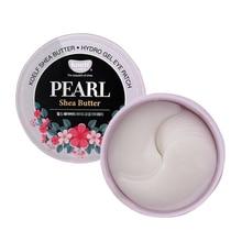 Korea Cosmetica Koelf Parel & Shea Butter Oogmasker Patch 60Pcs Bling Bling Huid Oogmasker Ageless Dark cirkels Petitfee Sub Merk