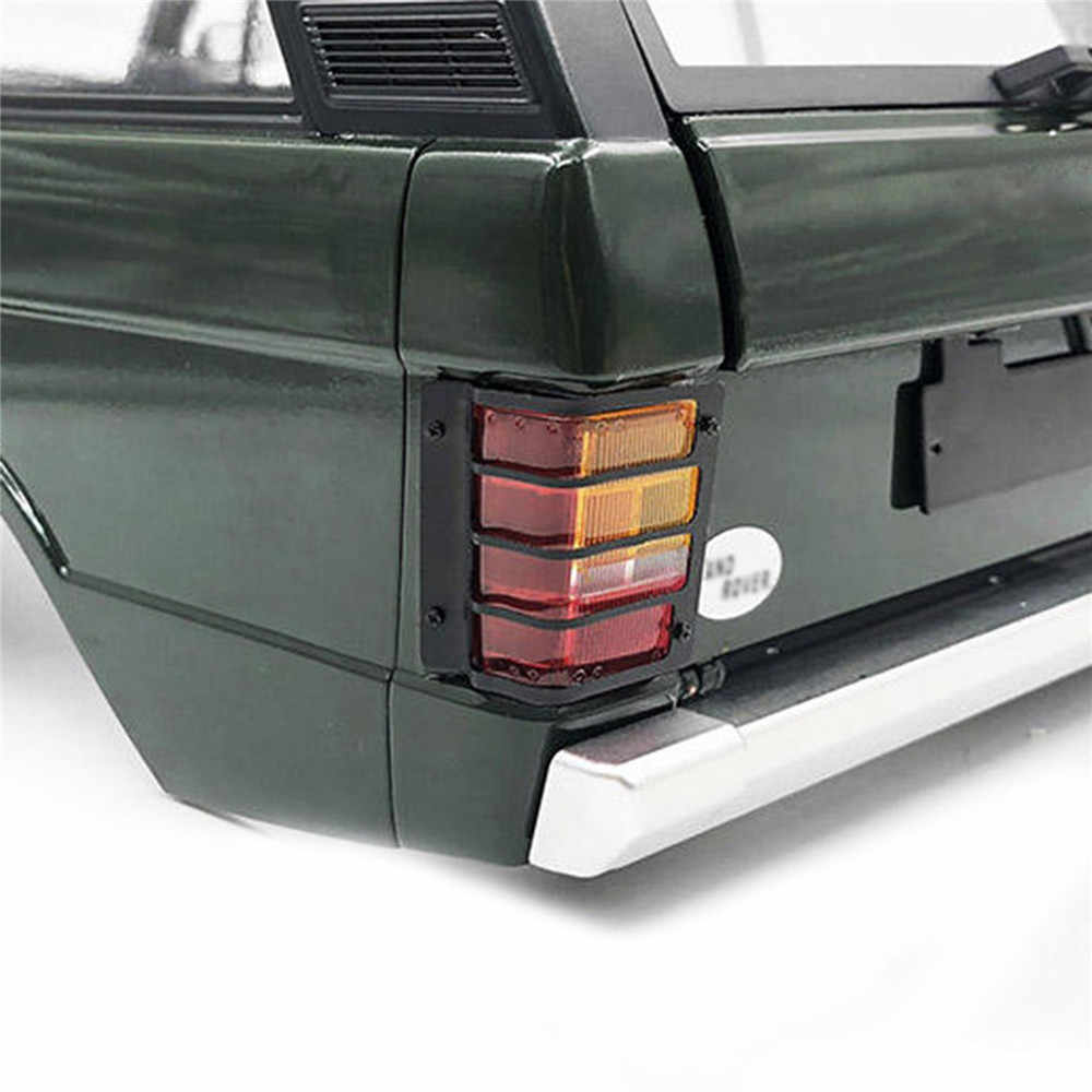 Decorative Metal Tail Light Guard For 1/10 Range Rover Classic Body RC  Parts Accessories DIY Upgrade Parts