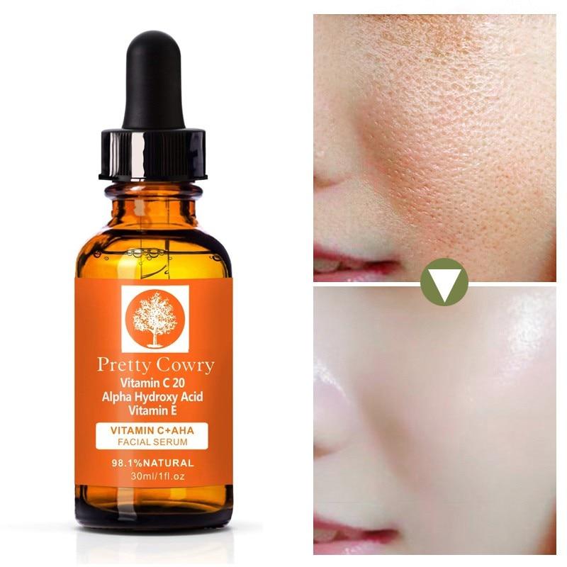 Us 3 99 30 Off Face Primer Makeup Base Vitamin C Serum Alpha Hydroxy Acid Vit E Natural Organic Anti Wrinkle Reducer Formula Dark Circle In