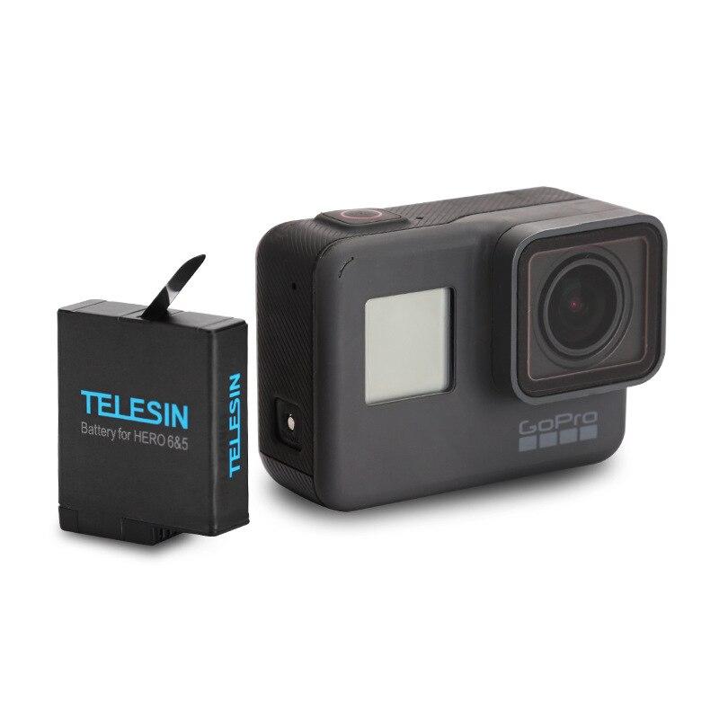 1pcs 3-way Battery Charger Charging Storage box + 2pcs 1220MAH AHDBT-501 Batteries For GoPro Hero 5 7 Black Hero 6 Camera (3)