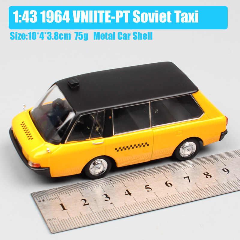 IXO 1:43 Масштаб Советский Союз СССР VNIITE-PT советский такси микроавтобус Ван conecpt литые модели автомобилей транспортных средств игрушка для коллекции дети