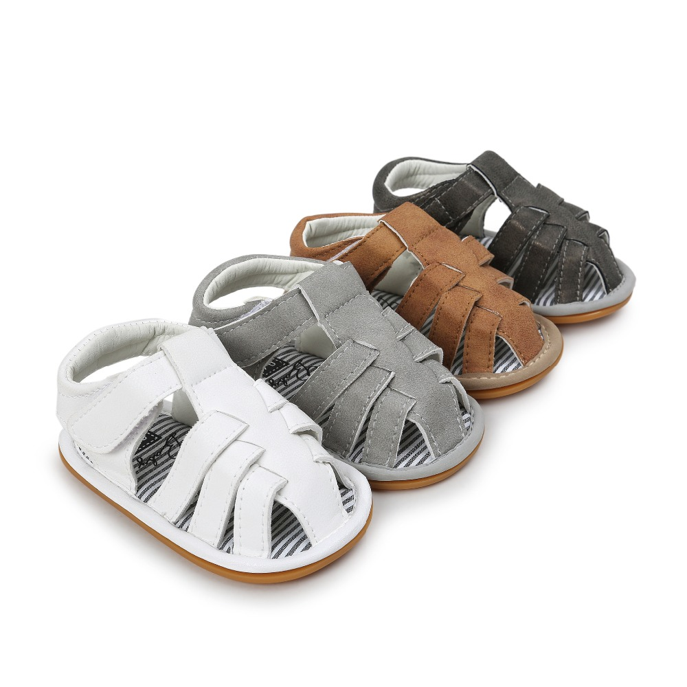 afa746372ca 2019 new brand summer handmade pu leather hard rubber sole baby boys first  walkers baby moccasins