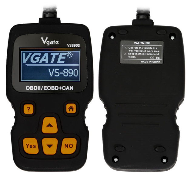 SCARPRIE Instrument Tool 2019 NEW hot sale Vgate VS890S Car Code Reader support Multi-Brands Cars high quality 9624