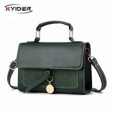 KYIDER New Luxury Women Leather Handbag High Quality PU Shoulder Bag Brand Designer Crossbody Bags Small Fashion Ladies