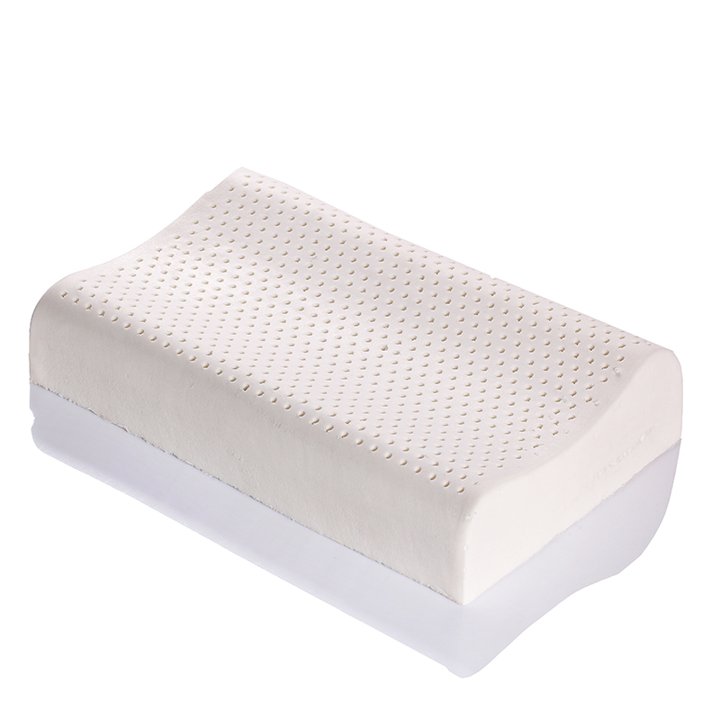 ФОТО 4PCS Size 50x30cm Thailand Imported Pure Natural Original Latex Wave Ventilation Memory, Massage, Therapy Health Care Pillow