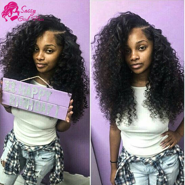 Kinky Curly Virgin Hair 3 Bundles Cambodian Hair Weave Bohemian