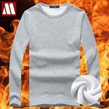 2021 outono inverno estilo men casa lazer veludo tshirt quente térmica manga longa camiseta masculina algodão tamanho grande 5xl masculino topos t