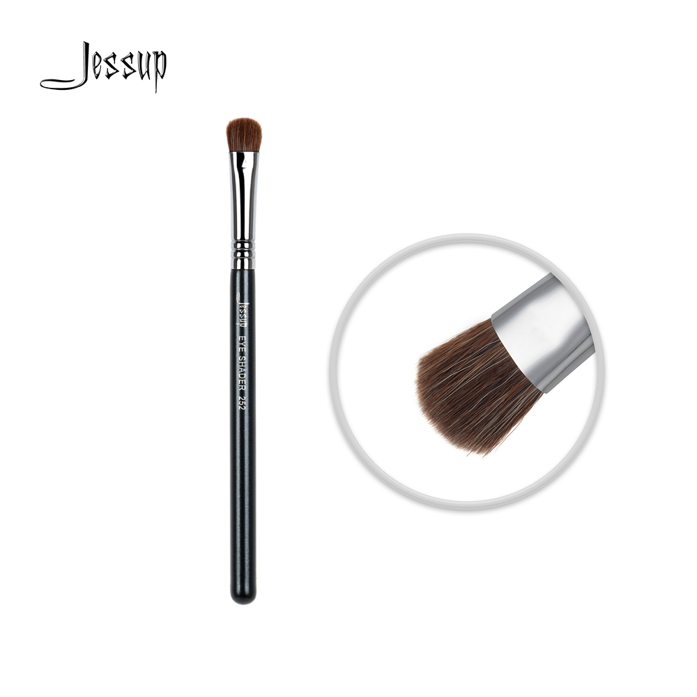 Jessup High Quality Materials Professional Face brush Makeup brushes brush Make up beauty tools Cosmetic Eye Shader 252 shoushoulang w211 professional makeup brush squirrel hair eye shadow brush ebony handle cosmetic tool eye shader make up brush