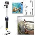 For GoPro Pole Floating Pole 35-60CM GoPro Hero 4/hero3/ Hero 3+Floaty Telescoping Monopod W/ Clip tripod For Accessories GoPro