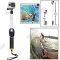 Para GoPro flotante polo polo 35 - 60 CM GoPro héroe 4 / hero3 / Hero 3 + Floaty telescópico Monopod W / Clip de trípode para accesorios GoPro