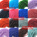 98pcs/lot Free Shipping Natural Stone 4MM Faceted Colorful Jade Loose Beads Pick Colors For Jewelry Making No.FJB01