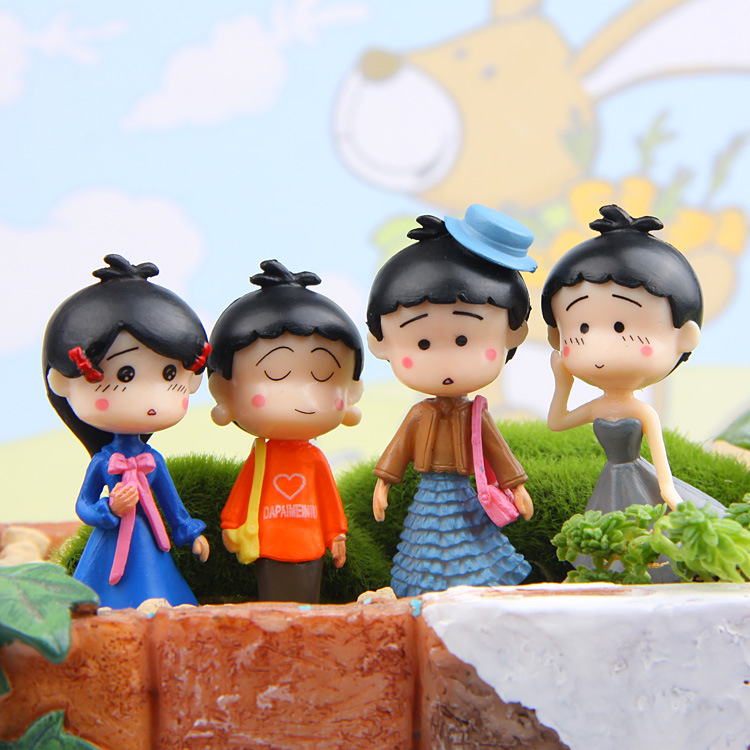 Doll lovers DIY landscape garden place adorn, The micro model decorative furnishing articles. Cartoon model toys. image