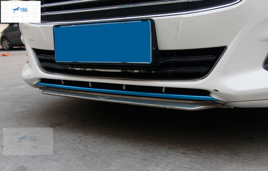 For Ford Mondeo 2014 2015 / Fusion 2014 2015 Front Bumper Bottom Side Lip Cover Trim 1 pcs купить