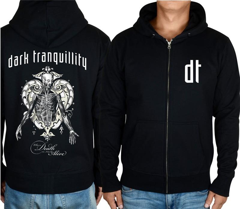 18 видов молнии темное спокойствие группа рок толстовки куртка с черепом 3D брендовая рубашка панк смерти темный свитер в стиле хеви-метал XXXL - Цвет: 1
