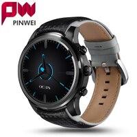 Pinwei lem5 android 5.1 smart watchสนับสนุนซิมการ์ดโทรศัพท์wifi 1กิกะไบต์+ 8กิกะไบต์บลูทูธmp3 s mart w atchกับpedometerสำหรับa ndroid ios