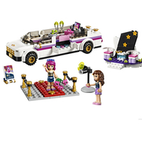 Bela 10405 Friends Series Pop Star S Luxury Car 265pcs Building Blocks Bricks Toys Children Gift