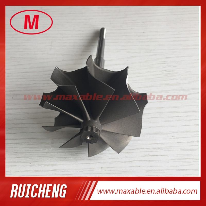 TD05H 49 1X56mm 9 blades turbo wheel turbine shaft wheel for turbocharger