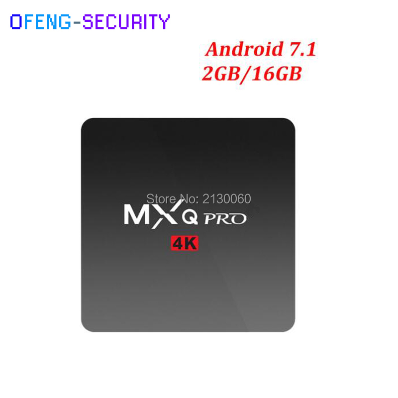 MXQPRO 2GB RAM 16GB Amlogic Smart TV Box  RK3229 Quad-core Set Top Box Android 6.0 Kodi 1GB/2GB 8GB/16GB HD 1080P