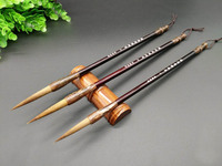 Eval 3pcs/set Chinese Calligraphy Brush Fit for Ink Painting Calligraphy Writing Pen Students School Art Supplies