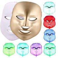 NEW 7 Colors Light Photon LED Facial Mask Skin Rejuvenation Care Rejuvenation Beauty Photon Tender Therapy