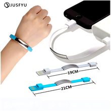 Micro USB Charger Cable Mini Bracelet Fast Charging Data Sync Cord For iPhone Xr Android Type-C Phone Charge Microusb Cable Wire цены