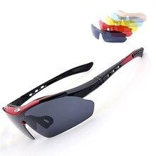 Солнцезащитные очки для рыбалки с коробкой UV400 поляризованные очки для верховой езды и пеших прогулок день/очки ночного видения
