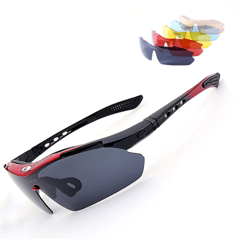 Uso de pesca óculos de Sol Óculos com Caixa de óculos de Sol Polarizados UV400 Pesca Equitação & Caminhadas Eyewear Dia/Noite Óculos de Visão