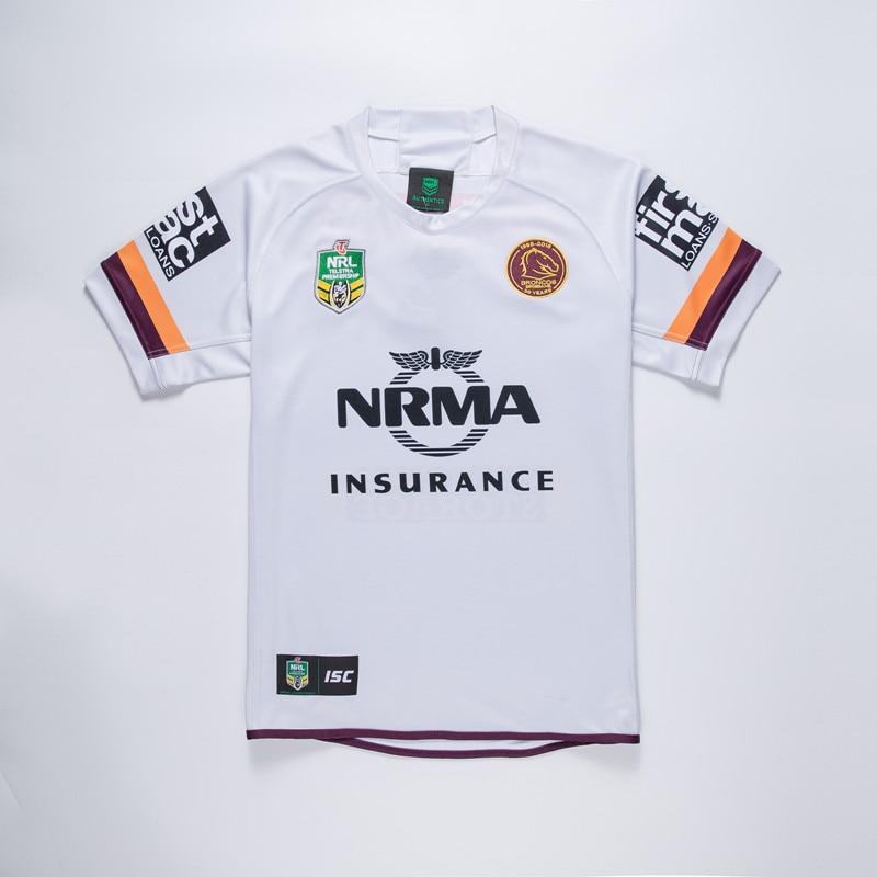 2018 2019 NRL high quality Brisbane Broncos rugby jerseys rugby Broncos  away jerseys size S-3XL Free Shipping 14e1cdb2f