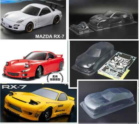 1/10 Schaal RC on Road Race Body fouring auto RX7 RS4 Past HPI KYOSHO KillerBody RS4 FW06 TAMIYA HSP REDCAT GTR35 AE86 R8 R5 AUDI
