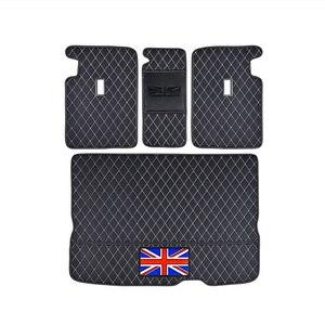 Image 4 - سيارة جذع سطح حماية وسادة من الجلد اكسسوارات السيارات التصميم لسيارات BMW MINI ONE equs JCW F54 F55 F56 F60 R60 كلوبمان كونتري مان