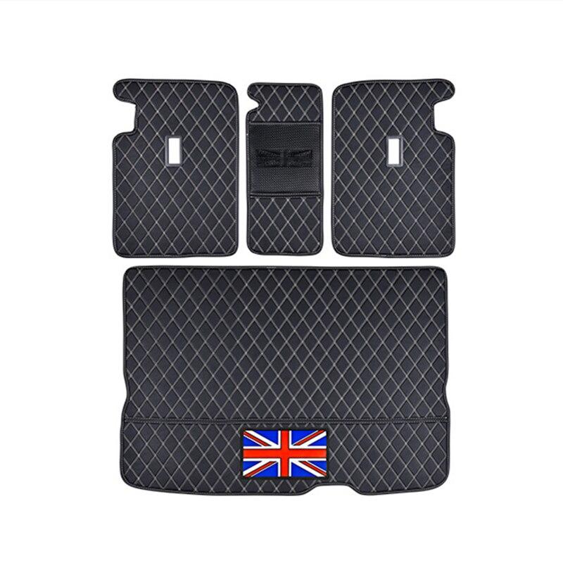 Tapis de protection de coffre de voiture en cuir Pad accessoires de style de voiture pour BMW MINI Cooper S JCW F54 F55 F56 F60 R60 CLUBMAN COUNTRYMAN - 6