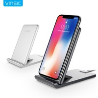Vinsic 13 5W 3 Coils Wireless Charger Fast Charge Wireless Charging Holder Suppot QC3 0 Type