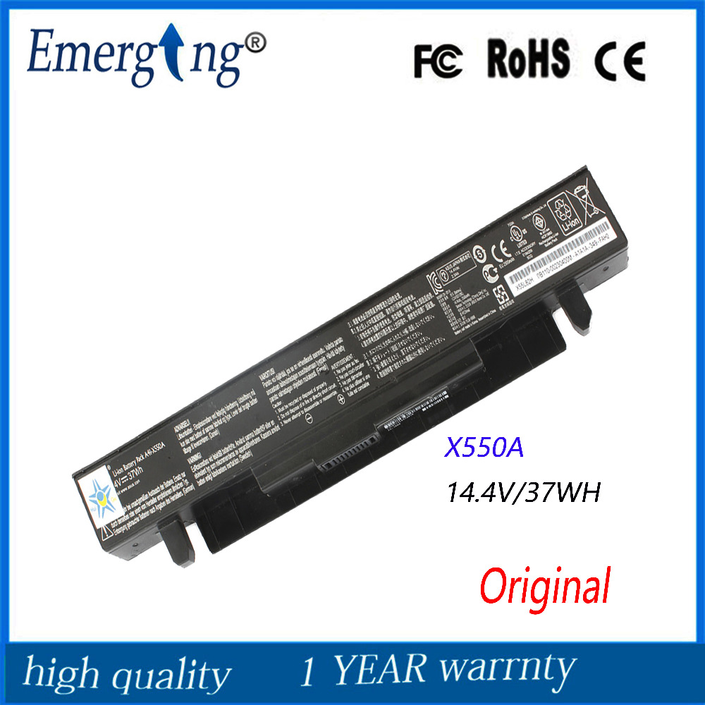 New Original 37Wh Laptop Battery for ASUS A41-X550 X450 X550 X550C X550B X550V X550D X450C X550CA A450 A550 A41-X550A