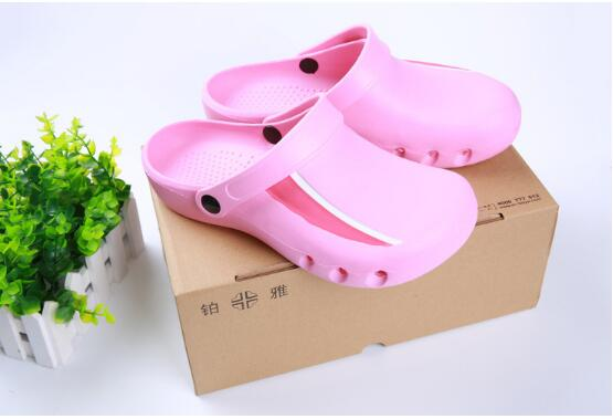 Surgical shoes, operation room, slippers laboratory, EVA medical work protective shoes, anti slip and anti needling.