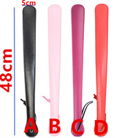 48 CM Bdsm Fetish Sex Long Leather Whip Flogger Ass Spanking Paddle Bondage Slave Fun Flirting Toys In Adult Games For Couples