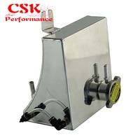 Legierung Kühlmittel Überlauf Tank Reservoir Kit Passt Für Nissan 240SX S13 SR20DET KA24DE KA24E BK