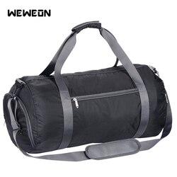 Светильник для мужчин и женщин, спортивная сумка, складная сумка для тренировок в тренажерном зале, большая сумка для фитнеса, складные сумк...