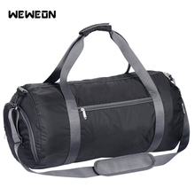 Large Capacity 23 inches Gym Bag Sports Bag Women Foldable Nylon Waterproof Sports Duffel Bag Fitness Workout Yoga Bag for Men стоимость