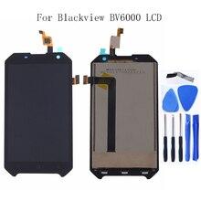 4.7 סנטימטרים עבור Blackview Bv6000 BV6000S LCD צג LCD מסך מגע LCD Digitizer זכוכית פנל החלפת משלוח חינם + כלי